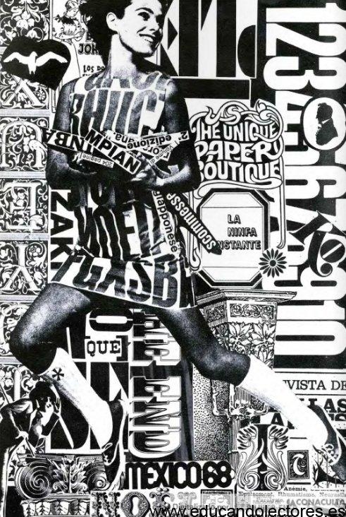 Ilustración que acompañaba el texto de Aub en su primera publicación en la Revista de Bellas Artes.
